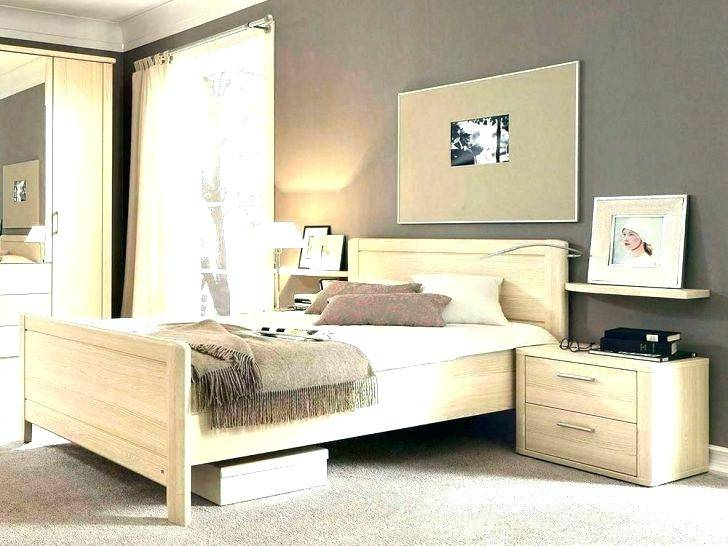 Luca 1 Schlafzimmer Komplettset Bett Kleiderschrank Set Pinie Weiß /  Trüffel