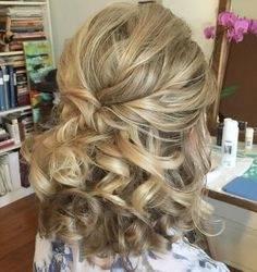 Frauen lange Haare Hochzeit Ideen Frisur