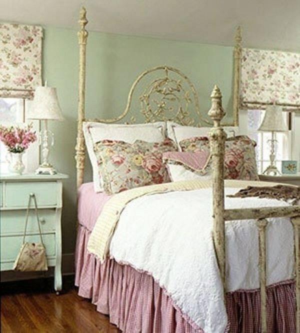 Ein Schlafzimmer kann man schön dekorieren