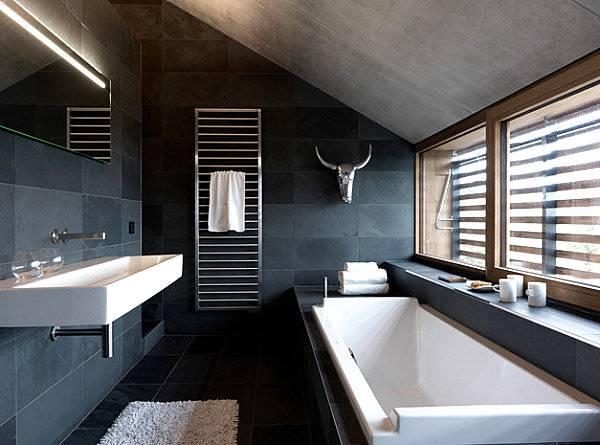 Luxus Badezimmer Ideen für einen klar definierten Look