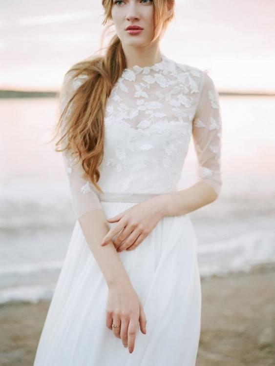 Gebraucht Bolero/Jacke für Hochzeitskleid Gr