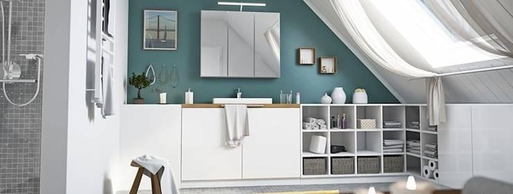 Ob stilvolle Möbel italienischen Designs oder individuelle Möbel nach Maß – finden Sie Badezimmermöbel, die den Wohlfühlcharakter Ihres Bades steigern