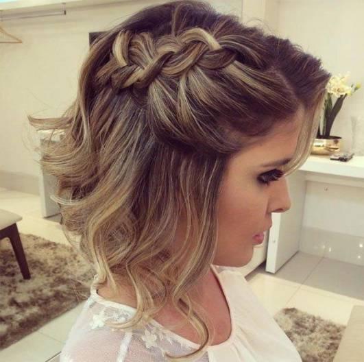 Frisur Hochzeit Kurze Haare Von Besten Der Kurze Blonde Frisuren