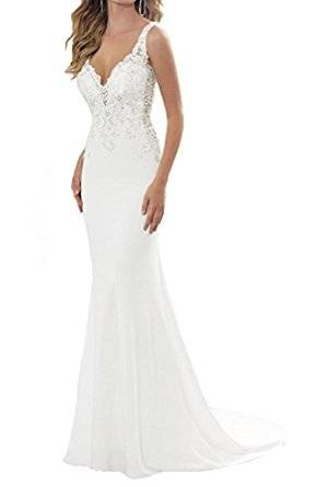 Azalia Midi Hochzeitskleid Elfenbein by Alie Street