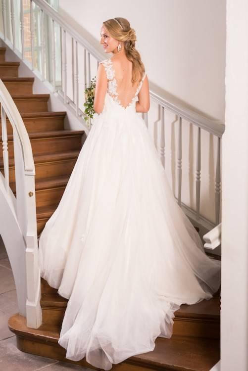 Traum Brautkleid Hochzeitskleid Spitze