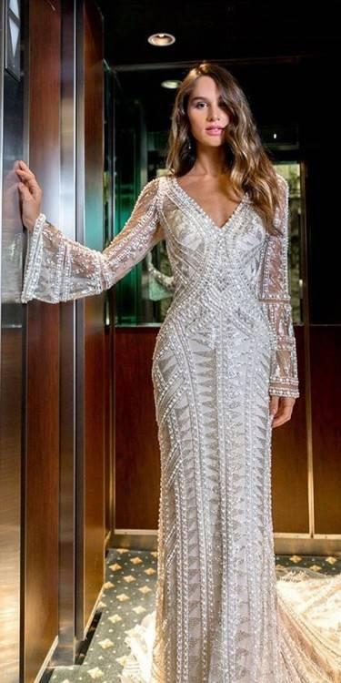 Boho Hochzeitskleid