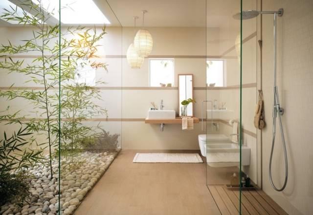 Bambus Badezimmer 33 Schön Badezimmer In Holzoptik, Bambus Badezimmer