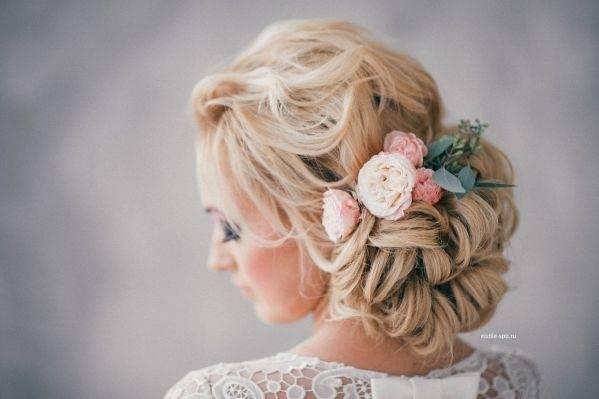 Greenery Hochzeit Frisuren
