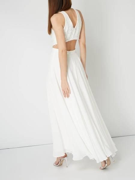 Schwangerschafts Hochzeitskleid Esprit mit Spitze