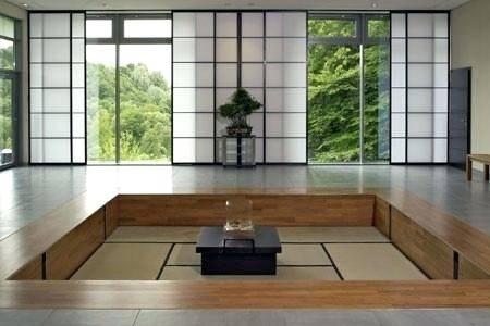 Raum 5 – Schlafzimmereinbau im japanischen Stil in Linz/ Österreich