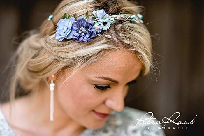 24 Sommer Ideen für romantische und elegante Braut Frisur | Hochzeit