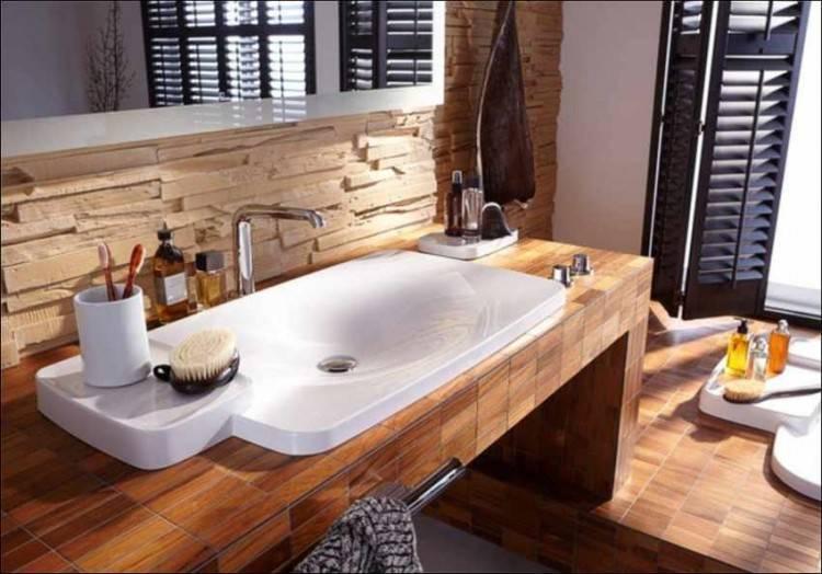 Ideen Fur Badezimmer Fliesen Frais Glanzend Holzoptik Fliesen Bad – Design De Maison,