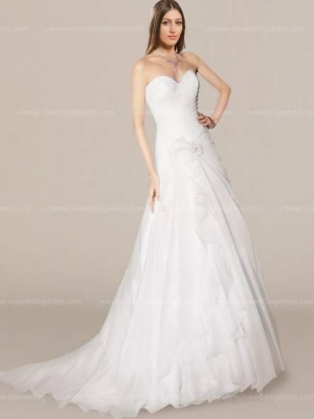Prinzessin Hochzeitskleid halbe Ärmel Maxi weißen Brautkleid Blumen Applikation rückenfreie Schärpe Stock Länge Ball Kleid Brautkleid