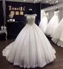 Cinderella Brautkleid Glitzer 4