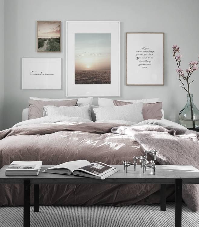 Dekorieren & Möblieren unserer neuen Wohnung sind, dachte ich mir, ich  teile eine Auswahl meiner liebsten Inspiration in Sachen Schlafzimmer mit  euch