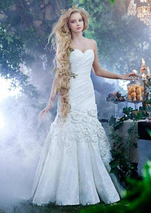 Disney Hochzeitskleid