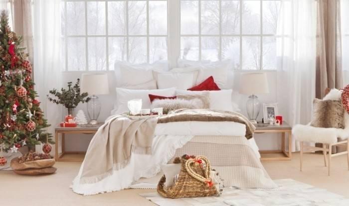 Schlafzimmer mit Lichterkette dekorieren