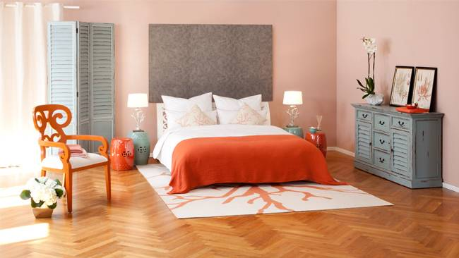 Schlafzimmer dekorieren – 55 Ideen für Wandgestaltung & Co