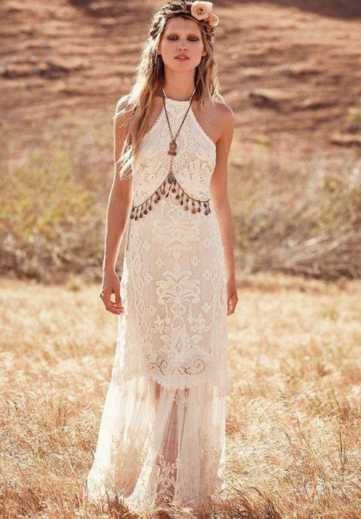 Gerne zeige wir Ihnen bei uns im Brautsalon eine Auswahl günstiger  Brautkleider im Bohemian Stil