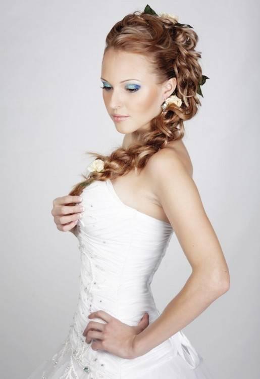 SCHICKE Frisur für Hochzeit, Abiball