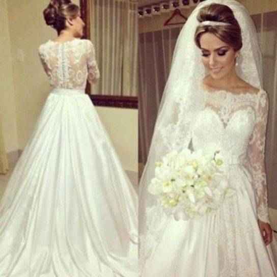 38 3 · NEUES Hochzeitskleid