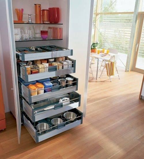Praktische Wohnideen für Küche – Mehr Lagerraum schaffen | Einrichtungsideen #küche #deutschküche