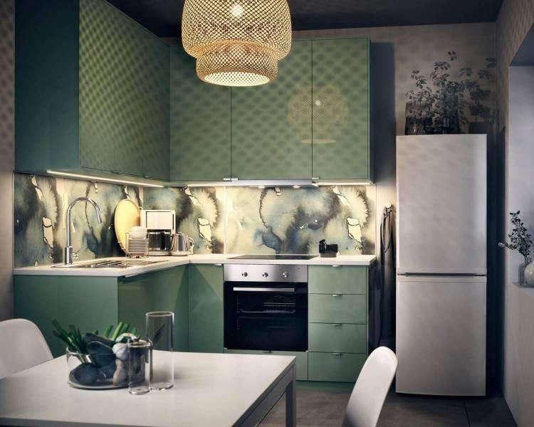 umweltfreundliche Küche grüne Küchenidee