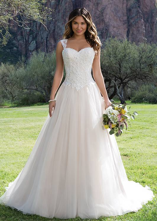 Wunderschönes Brautkleid aus dem Hochzeitshaus Northeim in Hann