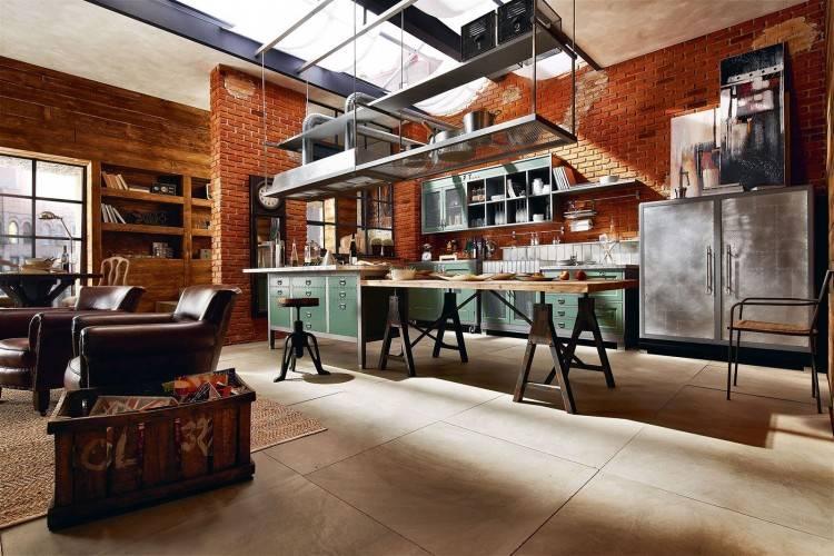 Küche Mit Kochinsel Modern – Beatrixcottonpants Das Beste Von Loft Küche
