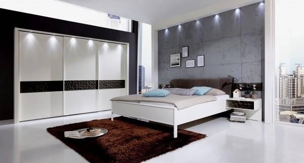 MONDO Schlafzimmer ARAME Alpinweiß Bild