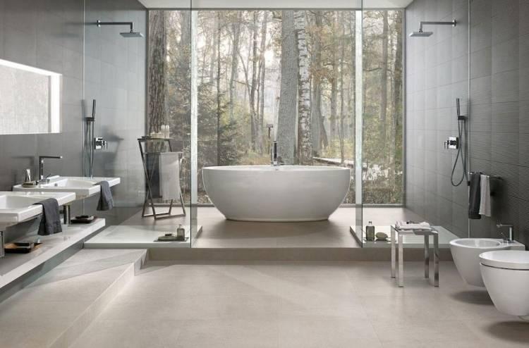 Bodenfliesen Badezimmer Grau Badezimmer Mit Holzoptik Fliesen Fenster Mit Einbruchschutz, Bodenfliesen Badezimmer Grau