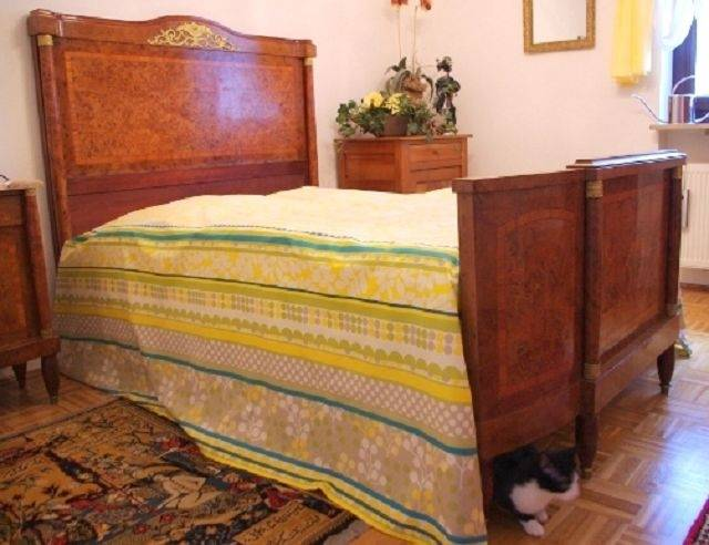 2, Schlafzimmer, Intarsien, Jugendstil, 1910