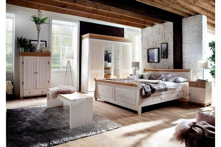 Schlafzimmer In Champagner Eichefarben
