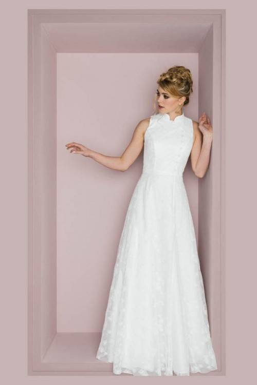 Brautkleid Hochzeitskleid Festliches Kleid kurz Gr