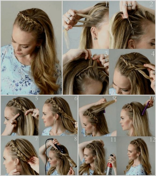 80 schöne Frisuren für lange Haare mit Anleitungen