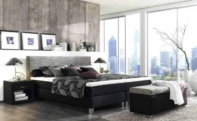 lila Schlafzimmer einrichten Bett Matratze Design Idee Holz Boden Belag Boxspringbetten Designs: Ein Hauch von Amerika im Schlafzimmer