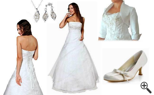 Feinste Spitze sowie edle Tüll und Taftstoffe verleiht der luxuriösen spanischen Brautmode ihre grazile Anmut und eine einzigartige Leichtigkeit