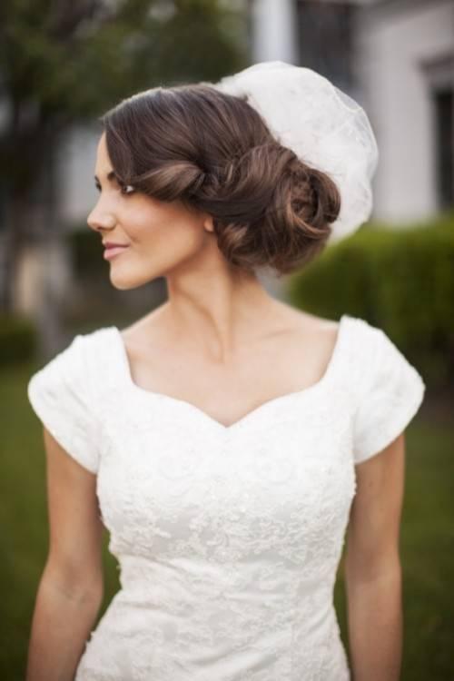 53 Besten Hochzeit Frisur Bilder Auf Pinterest Design Dutt Frisuren  Hochzeit