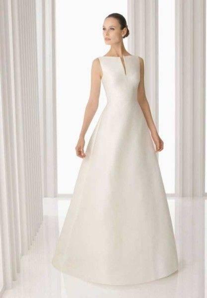 Poster schöne Frau mit Hochzeitskleid