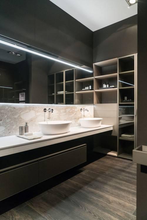 badezimmer ideen mit fliesen backsteinoptik einzigartige