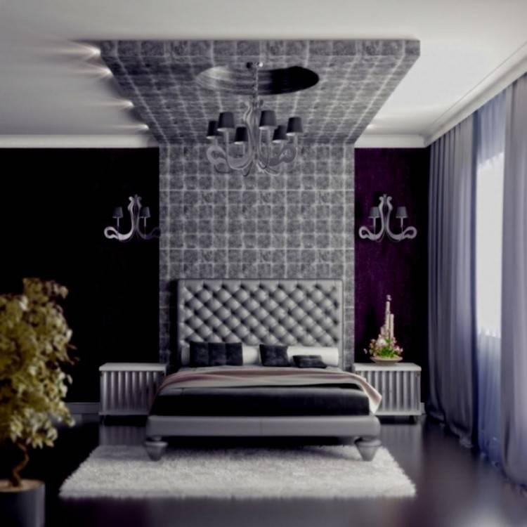 Zimmer L Schlafzimmer Lila Streichen Bemerkenswert