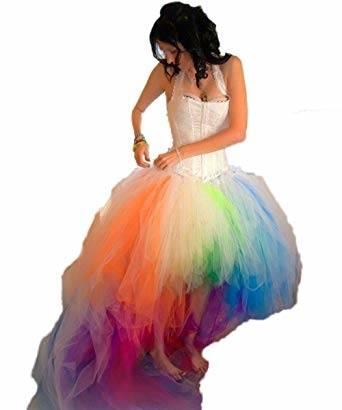 2017 Red And White Ballkleid Bunte Brautkleider weg von der Schulter Stickerei Perlen Korsett Prinzessin Nicht
