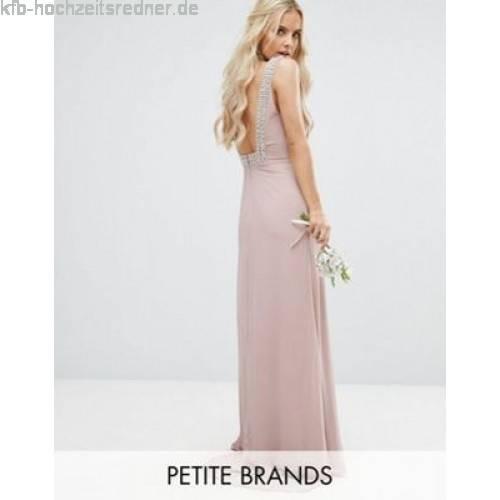 Dieses elegante, Figur betondende kurze Hochzeitskleid mit Stehkragen bringt deine Schultern durch den amerikanischen Armausschnitt wunderschön zur Geltung