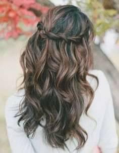 Abschlussball Frisuren Lange Haare Einzigartiges Half Up Half Down Hair  with Curls Pepino Haircuts Hairstyle Found