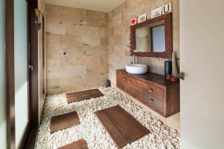 Genial Badezimmermöbel Holz