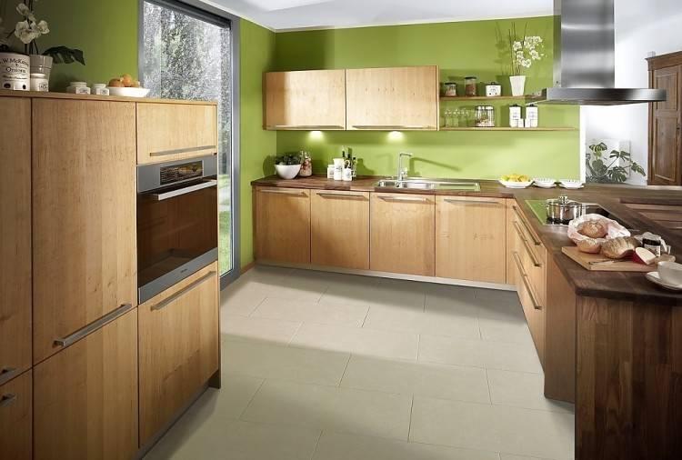 Küchen Holz Küchenblock Modern Holz