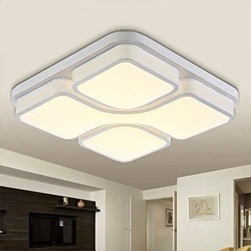 Leuchten Deckenleuchte Modern Deckenlampe Flur Wohnzimmer 36W LED Lampe Schlafzimmer Küche Energie Sparen Licht Wandleuchte Farbe white Acryl Lampenschirm