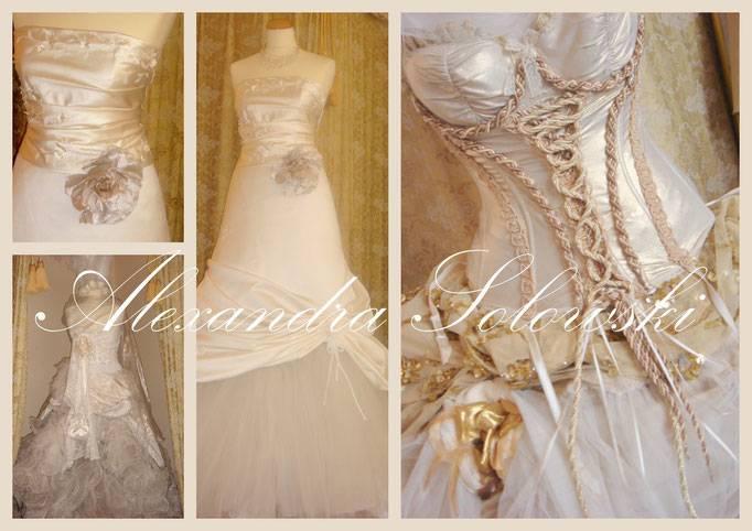 Kregeloh Mannheim, Portrait Hochzeitsbraut im Brautkleid mit Spitze