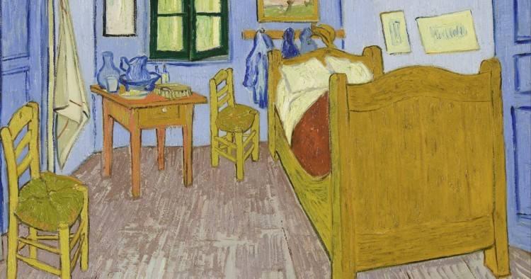 """Eine Übernachtung in Vincent Van Goghs """"Schlafzimmer in Arles""""? Das Art  Institute of Chicago vermietet über Airbnb das passende Zimmer"""