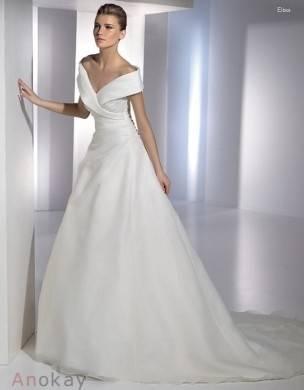Zwei Stück Spitze Hochzeitskleid Ballkleid Brautkleid Lagergröße